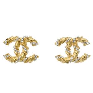 Nuovo famoso progettista di arrivo di monili Orecchini Marca oro placcato gli orecchini di lusso per le donne orecchino miglior regalo di Natale