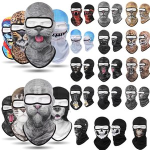 women and men Newest 3D Animal Beanie Outdoor Bicycle hats Cycling masks Motorcycle Skis Hats Sports caps Party Masks 5189