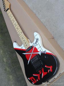 6-string Floyd Rose Unterschrift E-Gitarre, Schwert, Ahorn, schwarze Hardware, kundenspezifische Angebote