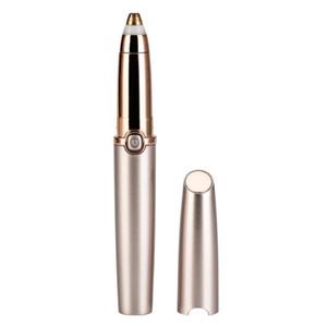 Mini Ceja Trimmer Epiladoras lápiz labial cejas pluma de pelo Epilator máquina de afeitar Razor instantánea sin dolor de la ceja de afeitar Depiladora