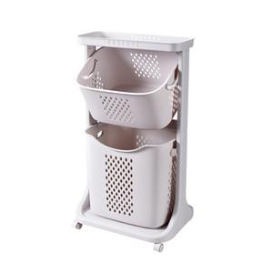 Schmutzige Fessel Kunststoff Bad Toilette schmutzige Kleidung Ablagekorb schmutzige Kleidung Haushaltswäschekorb Wäsche extra groß T200224