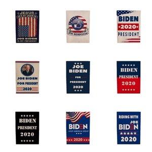 Biden 2020 Flag Sticker Set Donald Presidente Corpo de carro adesivos Mantenha a tornar a América Grande Partido Home Decor bandeira 5111 # 205