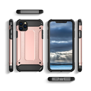 Hybrid Armor Cases for iPhone 12 Mini 11 Pro XS MAX XR 8 7 Plus Samsung Galaxy Note 10 S10 Plus S9 S8