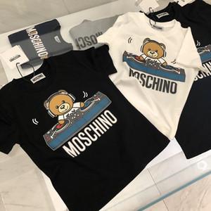Bambini Designer magliette delle ragazze dei ragazzi Marca lettera stampata con il modello dell'orso Tees Bambini estate casuale comodo Camicie T Ragazzi di lusso Top