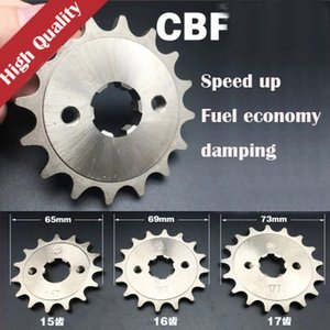 For HONDA CBF125 CB125 CBR125 CBZ125 XR125 XLR125 Senda125 For Kymco 125 Motorcycle front sprocket 15 16 17 Teeth gear sprockets