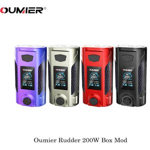 Original OUMIER Leme Mod 200W TC Box 18650 Baterias Fit 510Thread RTA