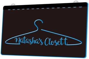 LD0081 (b) closett di Natasha luce al neon di trasporto decorazione Dropshipping all'ingrosso 8 colori tra cui scegliere