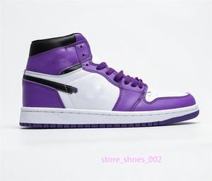 xshfbcl New Travis Scotts X 1 High 1s OG Mid Basketsball Shoes Cheap Royal Banned Bred off Black White New Color Men Women For Resale 36-45