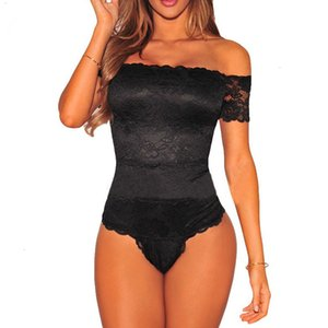 Rosa * Black Body Online Shopping economici Clothes Cina pizzo aderente Solid Elegante pagliaccetti tuta Combinaison Femme Drop Shipping