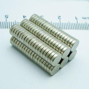 100шт Bulk Маленький круглый NdFeB неодимовые магниты диск D6x1mm N35 Супер мощный Strong Редкоземельные Неодимовый магнит Бесплатная доставка