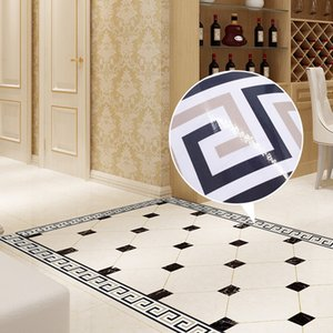 2M Self-Adhesive Side Line Tile Sticker Bathroom Kitchen Restaurant Wall Stair Floor Border Tile Sticker Wall Sticker Home Decor