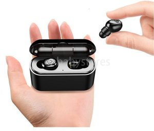 Tws True Wireless X8s Earbuds 5d Stereo Bluetooth Earphones Mini Tws Waterproof Headfrees With Charging Box 2200mah Power Bank