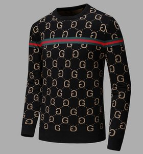 Classic men's designer sweater Pullover men's new Hoodie long sleeve Sweatshirt letter embroidered knitwear high quality top