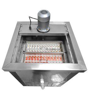 Magro Brasileira de Design 2 moldes de gelo picolé Machine, gelo Lolly que faz a máquina, gelo Lollipop Maker com 2 conjuntos de molde Slim (26 pcs picolé vara)