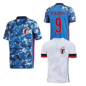 2020 Japan Soccer Jersey Home Away #9 MINAMINO NAGATOMO Soccer Uniform Mens #10 NAKAJIMA KUBO HONDA Football Shirt
