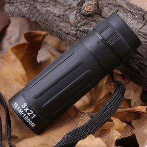 New Mini Night Vision Monocular Telescope Binoculars Focus Green Film Optical for Hunting Tourism Scope 10X25   8X21