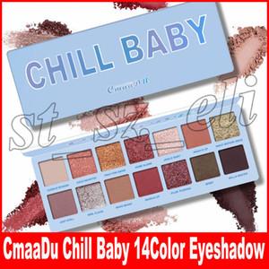Nova Paleta De Maquiagem Dos Olhos CmaaDu 14 Cores À Prova D 'Água Da Paleta Da Sombra Do Olho Em Pó Matte sombra de Olho Cosméticos