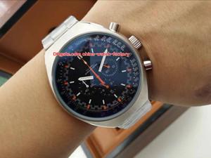 4 Estilo Topselling Classic 46mm x 42mm Mark II 327.10.43.50.06.001 316L Fecha VK Movimiento de cuarzo Cronógrafo Reloj para hombre de trabajo Relojes