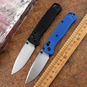 Nouveau Pocket 535 couteau pliant lame en fibre de verre D2 en nylon poignée couteau à fruits tactique de chasse camping en plein air ceinture outil de poche EDC boîte de détail