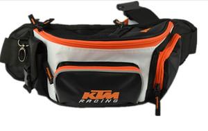 Nouveau modèle ktm chevalier Livraison gratuite sacs de taille moto sacs hors route course sacs hors route / vélo sacs de sport à glissière 3 couleurs