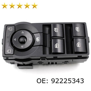 Black Auto Electric Power Window Switch 92225343 For H olden Commodore VE 06-13 LHD 92225343 Car Window Lifter Switch Factory Direct