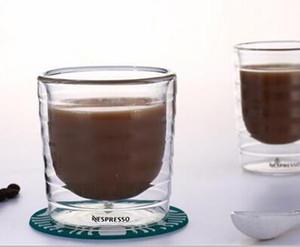 Чашка кофе Caneca 6шт / серия Рука выдувное двустенных сывороточный протеин Canecas Nespresso кофе эспрессо 85 мл 150мл Термальная Кубок Y200106