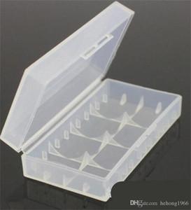 Neue kreative helle Verpackungsschachteln Sicherheits-Halter-Kasten aus Kunststoff Durable Lagerbehälter Transparent Batteriebox Hot Verkauf 0 5ym