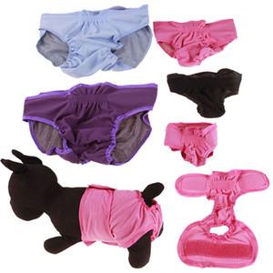 10PCS magia lavável cão masculino Fraldas fisiológicas calças para animais de estimação Roupa do filhote de cachorro Diaper Wraps Mulher Cães Roupa interior