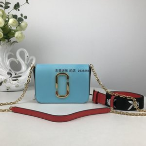 Charm2019 Cross original pur Grain de peau de vache seule épaule Messenger Pocket Chain Package, Multicolor Super Value
