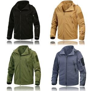 Vêtements pour hommes Nouveau Veste Automne Manteaux Vêtements tactique Outwear US Army respirante en nylon léger coupe-vent Hauts pour hommes