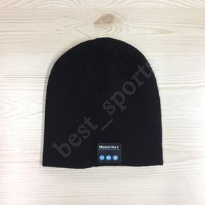Bluetooth Music Beanie Hat Wireless Smart Cap Headset Headphone Speaker Microphone Handsfree Music Knit Hat ZZA1434 20pcs