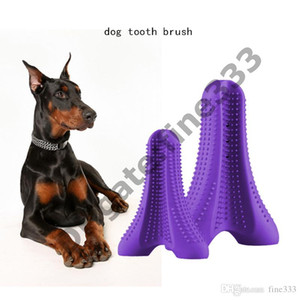 Chien Tooth Brush Animaux Chiens Chew Brosse à dents Jouets Brossage Stick Stick Jouets Pour Chiens Chew Chiot jouet Chiot pour Doggy Oral Soins Brosse