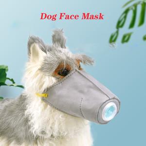 Собака маска для лица Pet защитная маска дышащая мягкая хлопковая собака респираторная PM2. 5 Антипылевая Маска крышка, 3 шт