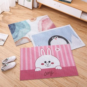 40*60cm Small Floor Mats Living Room Bedroom Door Mats Kitchen Nordic Thick Non-slip Seat Cushion Home Child Mat