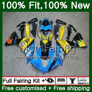 Corpo per YAMAHA YZF 1000 R 1 YZF-1000 YZFR1 09 10 11 12 99MF12 YZF R1 09 YZF1000 YZF-R1 2009 2010 2011 2012 Carenatura blu Shark