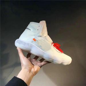2019 venta caliente Nueva Hyper Dunk 2017 FK Hyperdunk Baloncesto diseñador de moda los zapatos de las zapatillas de deporte del top del alto del deporte al aire libre 10X Formadores zapatilla de deporte