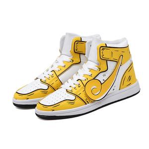 Gros bon marché Hommes Femmes Chaussures de basket-ball jaune bleu blanc formation Sports de plein air de haute qualité Hommes Baskets Chaussures Sneakers 36-44