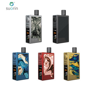 Suorin Elite 40W VW Pod Kit Built in 1100mAh Battery With 3.1ml Pod Cartridge 5-Protection Security System For Safe Vaping 100% Authentic