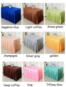 Custom Table Skirt Home Textiles Wedding Party Tulle Tutu Table Skirt Birthday Baby Shower Wedding Table Decorations Diy Craft