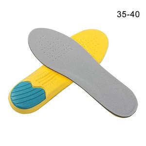 1pair reutilizável Homens Mulheres Foot Care Memory Foam desodoriza palmilhas ortopédicas Montanhismo pode ser cortado sapatos Pad exterior respirável