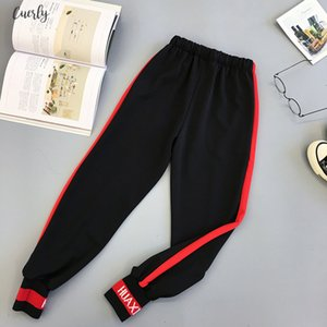 Loose Spring Cargo Pants Plus Size Letter Print Big Pocket High Waiste Pants Streetwear Girl Fashion Harajuku Hip Hop Pants