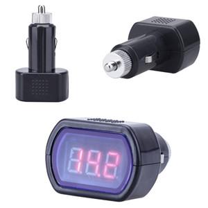 KW204 Mini système pour véhicules de LED numérique Détecteur Voltmètre Voltmètre accessoires de voiture de haute qualité Accesorios