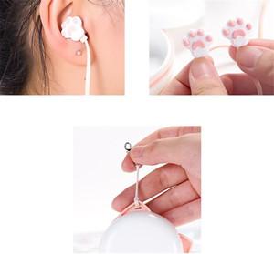Nette Katze-Greifer-Ohrhörer 3,5 mm Stereo-In-Ear-Ohrhörer mit Mikrofon für iPhone Samsung Xiaomi Mädchen-Kind-Kind-Studenten-Geschenke