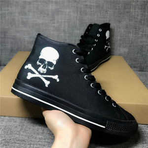 Graffiti PU Hommes Femmes Bottes en cuir Oxford classique Mid Top Desert Chaussures Casual Dress Boot Homme Summer Sneakers Bottes Zapatos