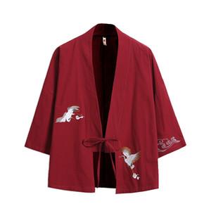 pur coton mince manteau costume brodé tang modifié style chinois jeunesse taille élargie cardigan han