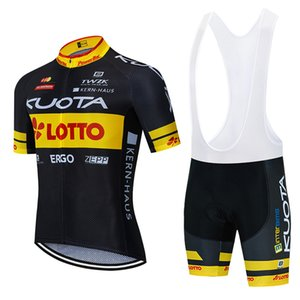 Tour De France 2020 KUOTA Cycling Jersey set summer breathable MTB bike cycling Clothing bib shorts kit Ropa Ciclismo