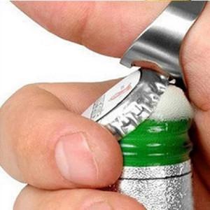 Renkli Paslanmaz Çelik Beer Bar Aracı Bottel Favors Açıcı Yeni Taşınabilir Parmak Yüzük Şişe