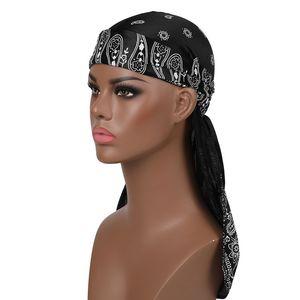 Ciclismo pirata sombreros Durags Bandana turbante pelucas ameba casquillo al aire libre del sombrero Hombres Mujeres Headwear accesorios de la venda del pelo
