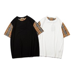 wholesale designer brand letters Printed Mens Womens T-Shirt Couple Sport Tide Clothing Casual Tees Hip Hop luxurious shirts unisex tops q2