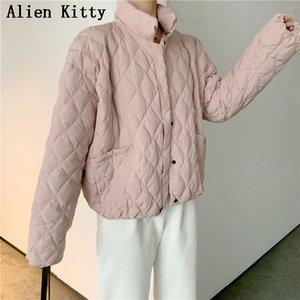 Alien Kitty Moda Bahar Kış Moda Rahat Rahat Kadın Ceket Kaban Giyim Bayanlar Şık Taze Ceket All-Mach Sevimli